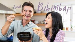 BIBIMBAP and Silliness with DONAL SKEHAN!!!