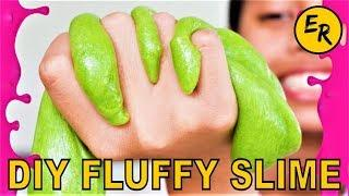 How To Make Slime (DIY SUPER Fluffy Slime) EASY Without Borax 2019