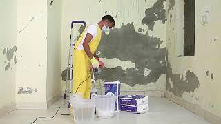 Make JK Wall Putty paste the right way