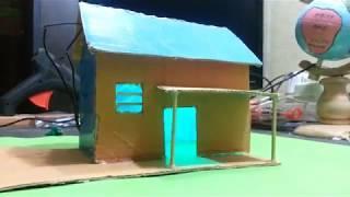 How to make a cardboard house - Simple idea - Beautiful cardboard house build
