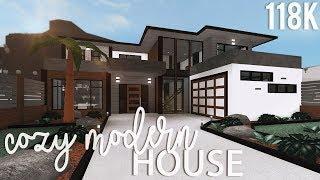 ROBLOX   Bloxburg: Cozy Modern House 118k