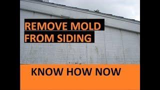How to Clean Mold From House Wood Siding