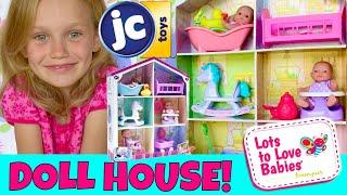 ????Super Cute Tiny Doll House! ????JC Toys, Lots To Love Play House Unboxing! ????So Tiny & Too Cut