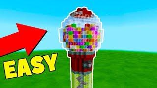 Minecraft Tutorial: How To Make A Gumball Machine House