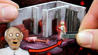 Making GRANNY'S Attic Miniature House in POLYMER CLAY!