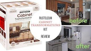 Rustoleum Cabinet Transformations Kit review and mini tutorial