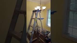 Painting kitchen cabinets,walls,and trim
