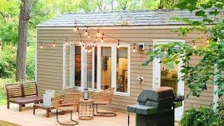 Amazing Stunning Tiny House Couple Shannon & Tim | Tiny House Nation