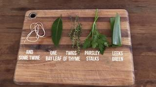 How To Make a French Bouquet Garni (in less than 1 minute)