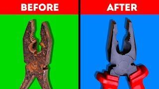 40 AWESOME TOOL HACKS