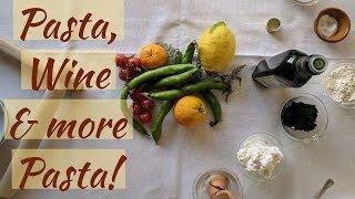 Italy Travel Vlog || Day 3 Pasta, Wine & MORE Pasta! || Cara Di Falco || Cara's Cucina