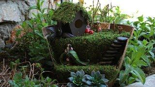 How to Make a Fairy House and Garden Planter | The Sweetest Journey
