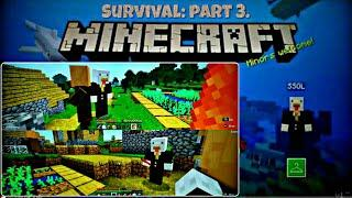 Minecraft: Nintendo Switch Edition G4, 2P local splitscreen Survival Mode, Villager's Village!