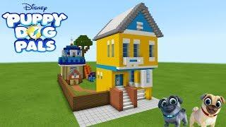 "Minecraft: How To Make Bingo And Rollys House ""Puppy Dog Pals"""