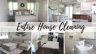 ENTIRE HOUSE CLEAN | ALL DAY CLEANING | CLEANING MOTIVATION
