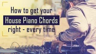 How to make House: Piano chord riffs