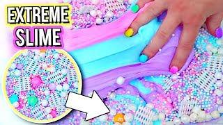 EXTREME UNICORN SLIME DIY! Learn How To Make THE BEST UNICORN SLIME!