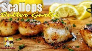 Scallops | Butter Garlic Scallops Recipe | Seafood