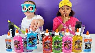 TIANA CHEATED!! Blindfolded Slime Challenge