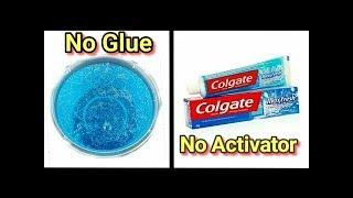 DIY Toothpaste Fluffy Slime!! No Shaving Cream, No Glue, No Borax! MUST WATCH!!