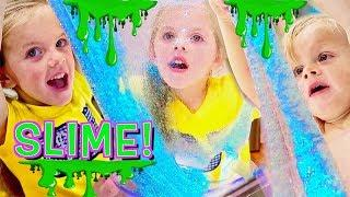 Making SLIME with GLITTER!