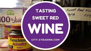 Tasting Cheap Wine - Brian's Sweet Red Wine