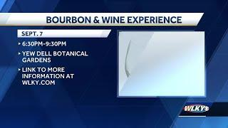 Bourbon and Wine experience at Yew Dell aBotanical Gardens