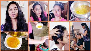 #DIY How To Make Carrot Hair Oil/ How To Use Carrot Oil For Long, thick &  healthy hair/ AshaSudarsa