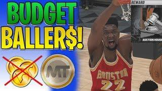 NBA 2K19 MyTEAM Budget Ballers ep 2 | UNLOCKING THE AUCTION HOUSE