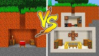 MINECRAFT - NOOB VS PRO: SECRET HOUSE in Minecraft