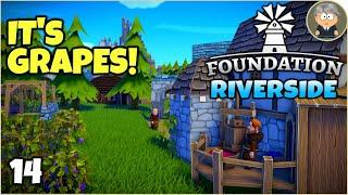 New Content Update, Let's Make Some Wine - Foundation Early Access: Riverside #14
