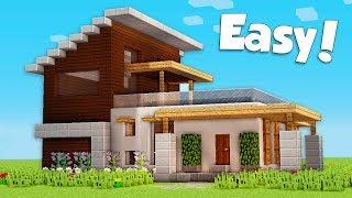 View Minecraft How To Build Small Modern House Background Minecraft Ideas Collection