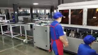 How To Make a Wine Cardboard Box By Zhengrun Machine