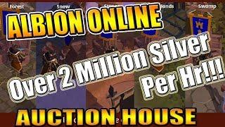 How To Make Millions of Silver Per/Hr in Albion Online! - Albion Online Money Making Guide!