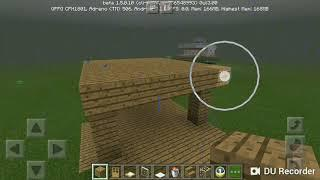 How to make a starter house in mcpe