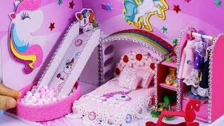 DIY Miniature Dollhouse ~ Unicorn Room Decor , Shoes #41