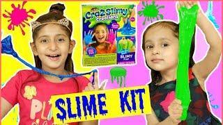 Anantya & Anaya Makes GLITTER & COLOURFUL SLIMES .. | #Kit #Unboxing #MyMissAnand #ToyStars