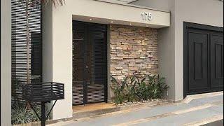 Exterior wall decor designs ideas