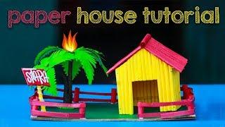 how to make attractive paper house