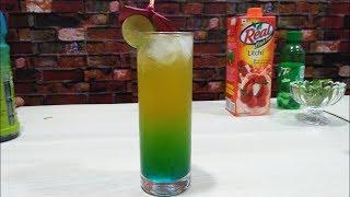 Pulpy Caribbean mocktail || how to make || the mocktail house