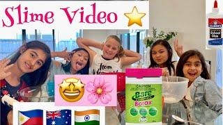 HOW TO MAKE SLIME and Have FUN AUSTRALIANS FRIENDS ????????????????????????
