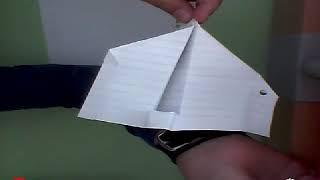 Πώς να φτιάξετε μια σαίτα  / How to make a paper airplane