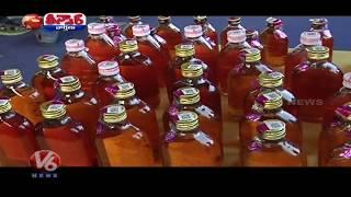Liquor Shops Will Be Closed | Holidays For Wine Shops | Beware Liquor Fans|Teenmaar News | V6 News