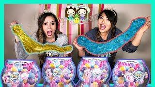 Don't Choose the Wrong Gumball Slime Challenge! Sis Vs. Sis