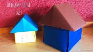 how to make a paper house -how to make a paper house origami -DIY-Craft -Ideas-fold -house