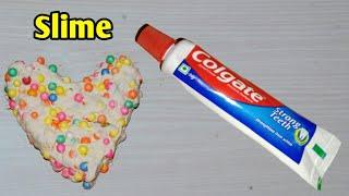 How To Make Slime With Toothpaste!! DIY Slime Without Glue or Borax