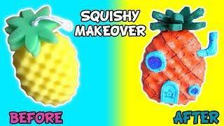 £1 PRIMARK SPONGE INTO SQUISHY | Spongebob's Pineapple House