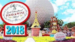 THE FIRST DAY OF EPCOT'S FOOD AND WINE FESTIVAL 2018!! | Disney Vlogs | Josie Rebel