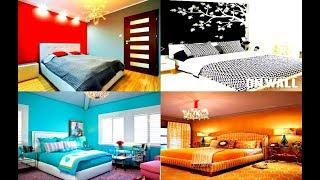 TOP 100 Bedroom Color Combination ideas | Latest Painting Colour Combination For Bedroom 2019