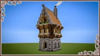 How To make a 1Chunk Fantasy House in Minecraft